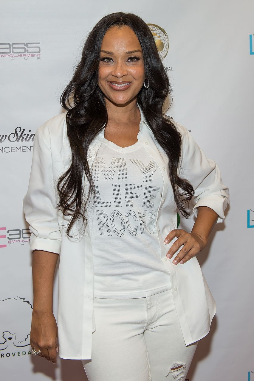 LisaRaye McCoy från 'Single Ladies' & Her Look-Alike Granddaughter stjäla showen i matchande kläder på ABFF 2020