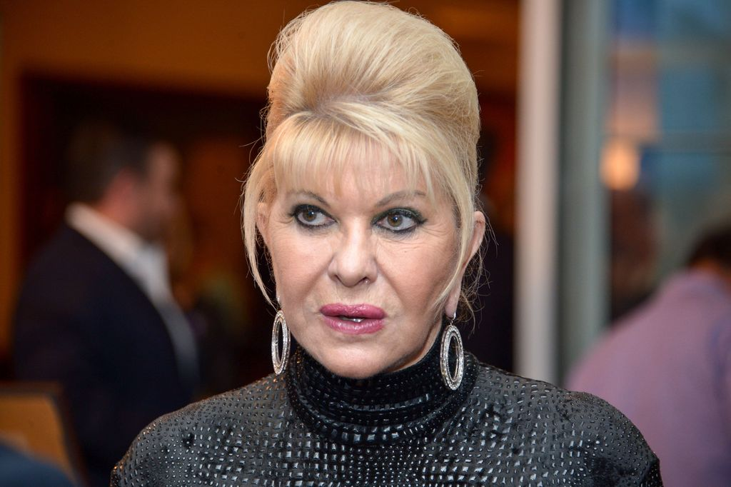 Ivana Trump at the 9th Annual Eric Trump Foundation Golf Invitational Auction & Dinner on September 21, 2015 | Photo: GettyImages