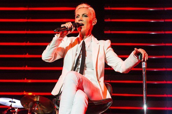 Marie Fredriksson of Roxette at The O2 Arena in London, England | Photo: Getty Images