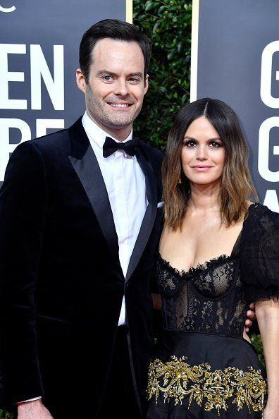 Bill Hader and Rachel Bilson at The Beverly Hilton Hotel on January 05, 2020 in Beverly Hills, California. | Photo: Getty Images