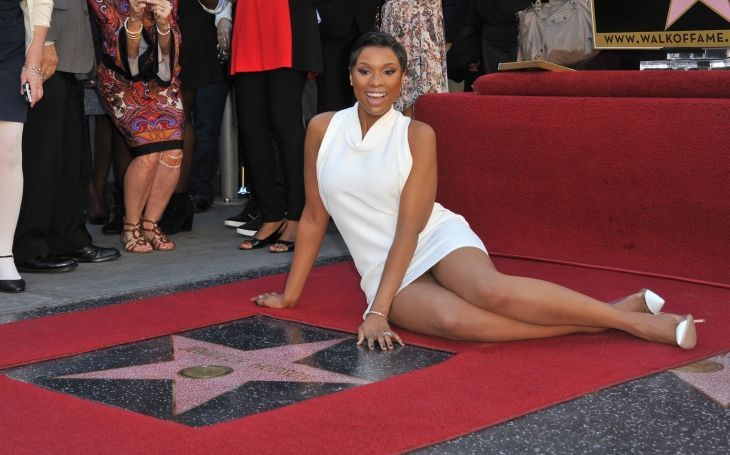Jennifer Hudson is honored with a star on the Hollywood Walk of Fame in 2013/ Source: Getty Images