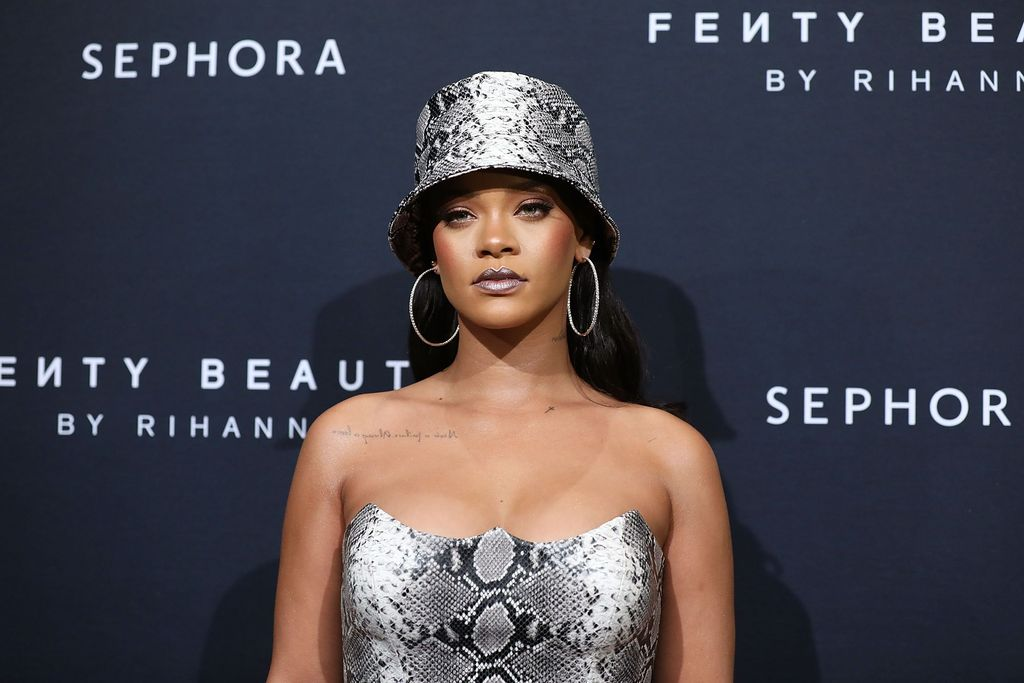 Rihanna at the Fenty Beauty by Rihanna Anniversary Event on October 3, 2018 in Sydney, Australia/ Source: Getty Images