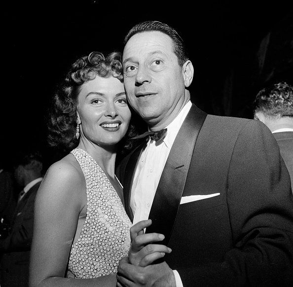 Actress Donna Reed and her husband Film Producer Tony Owen dance at the opening night for Tony Martin at the Cocoanut Grove in Los Angeles,CA. | Photo: Getty Images