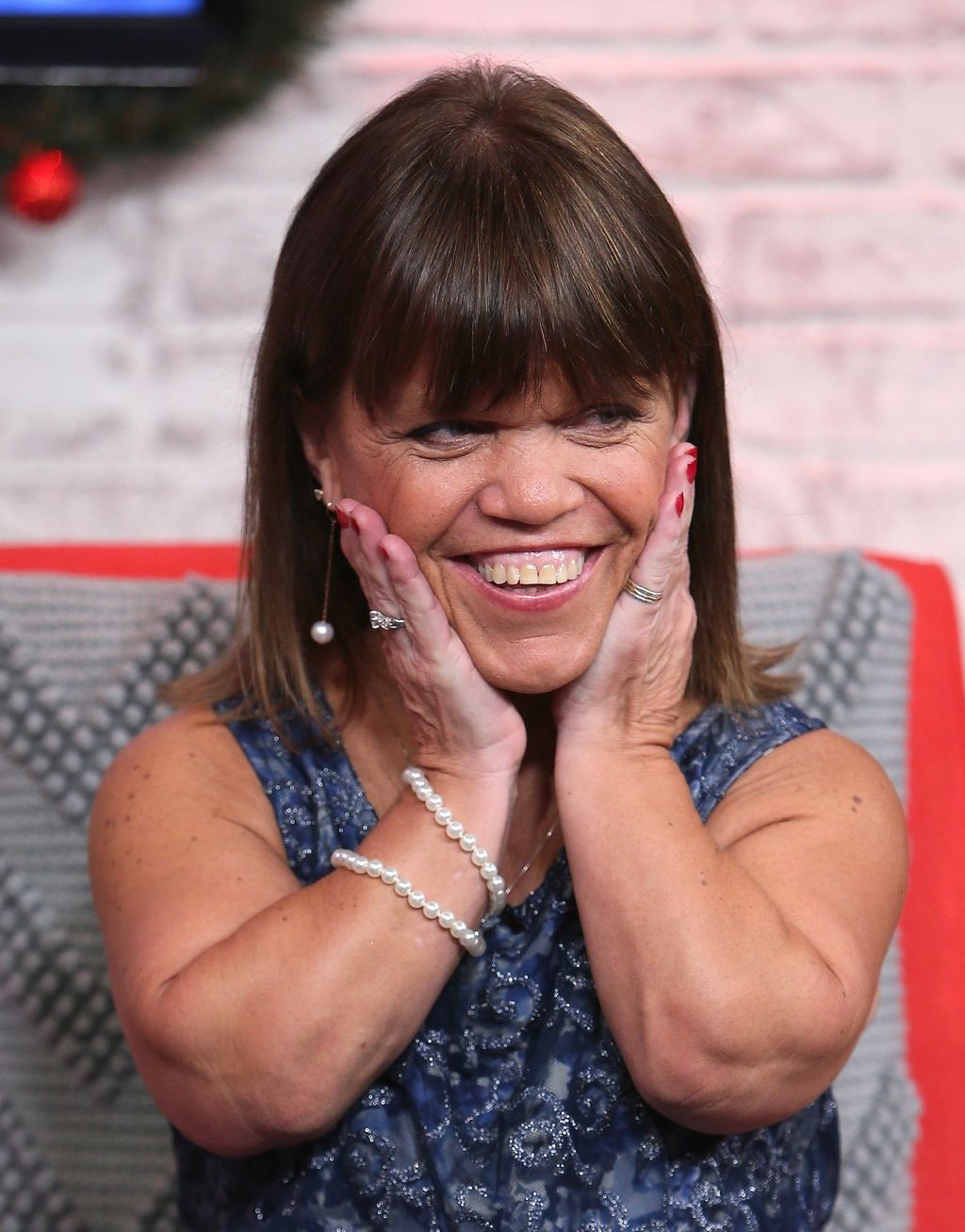 Amy Roloff visits Hollywood Today Live at W Hollywood on December 13, 2016, in Hollywood, California. | Source: Getty Images
