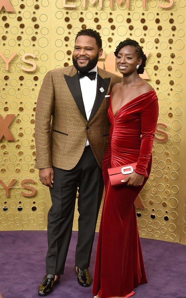 Anthony Anderson and Alvina Stewart attend the 71st Emmy Awards at Microsoft Theater | Getty Images