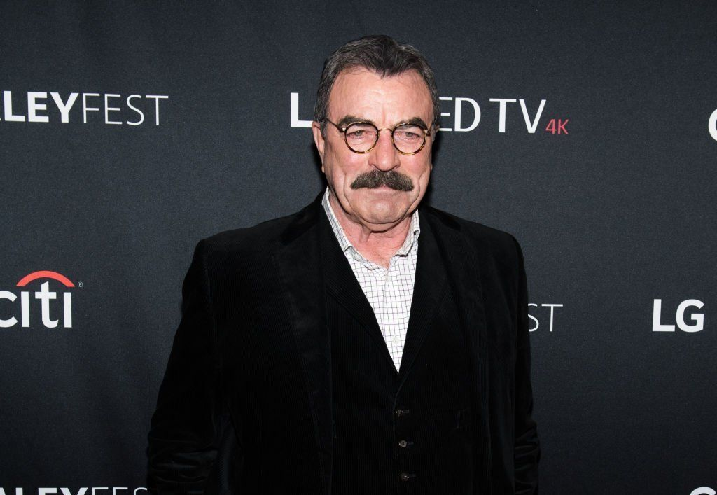Actor Tom Selleck attends the
