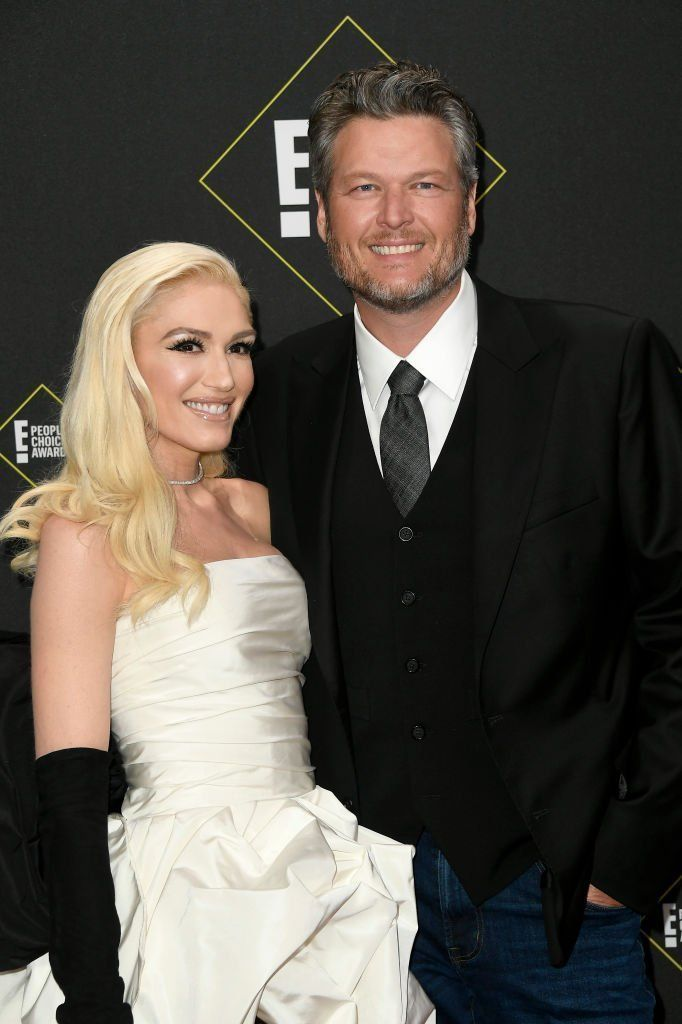 Gwen Stefani and Blake Shelton attend the 2019 E! People