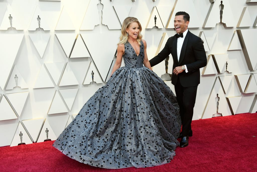 Kelly Ripa and Mark Consuelos attend the 91st Annual Academy Awards at Hollywood and Highland on February 24, 2019, in Hollywood, California. | Source: Getty Images.